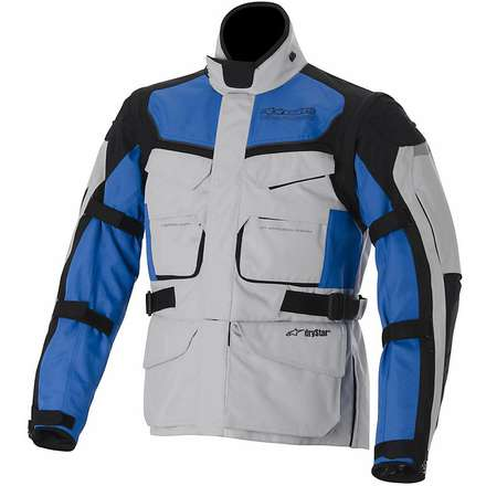 Calama Drystar Ice / White / Grey / Blue Jacket Alpinestars