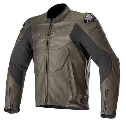 Caliber Leather jacket brown Alpinestars