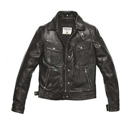 Cannonball leather Jacket Helstons