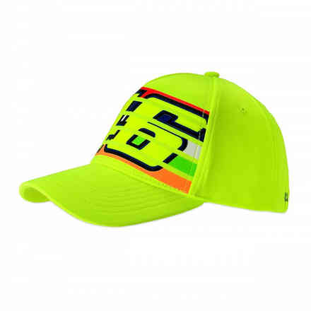 Caps Stripes Yellow Fluo VR46
