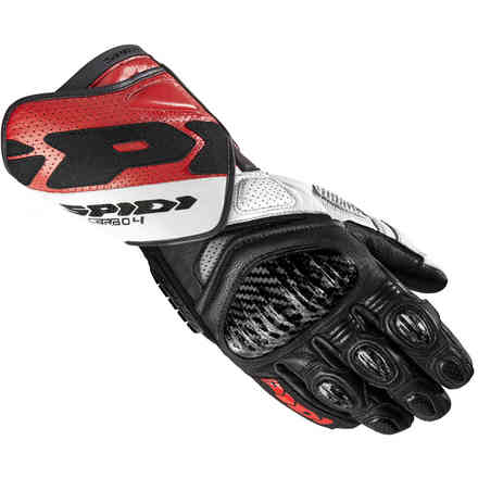 Carbo 4 gloves Red Spidi