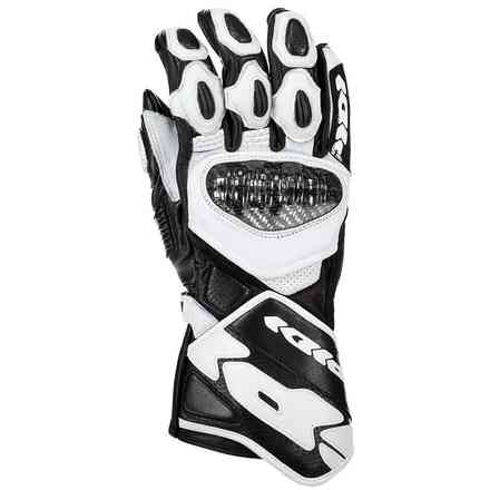 Carbo 7 gloves black white Spidi