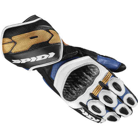 Carbo 7 gloves blue gold Spidi