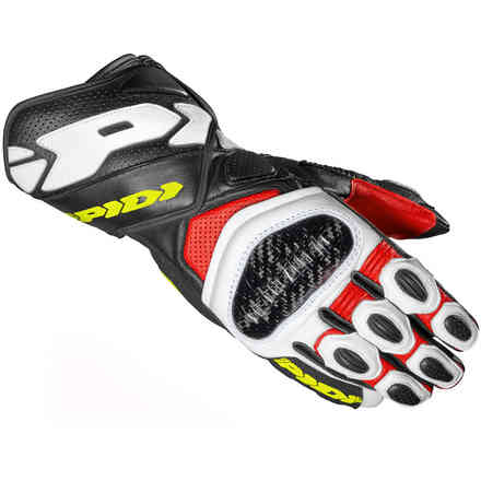 Carbo 7 gloves red yellow fluo Spidi