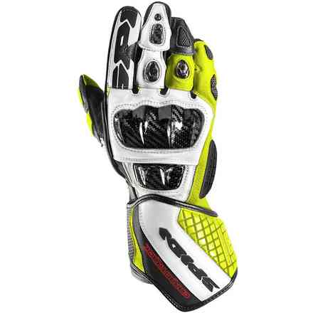 Carbo Track Evo gloves black yellow fluo Spidi