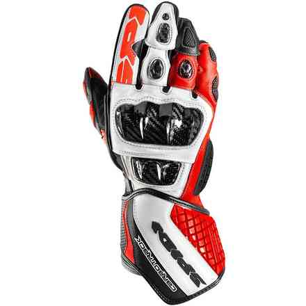 Carbo Track Evo gloves red Spidi