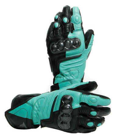 Carbon 3 Lady gloves black aqua anthracyte Dainese