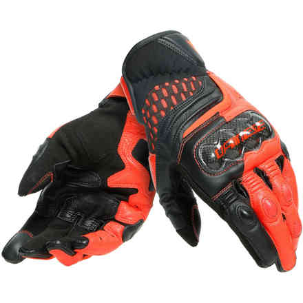 Carbon 3 Short Black-fluo-red Dainese