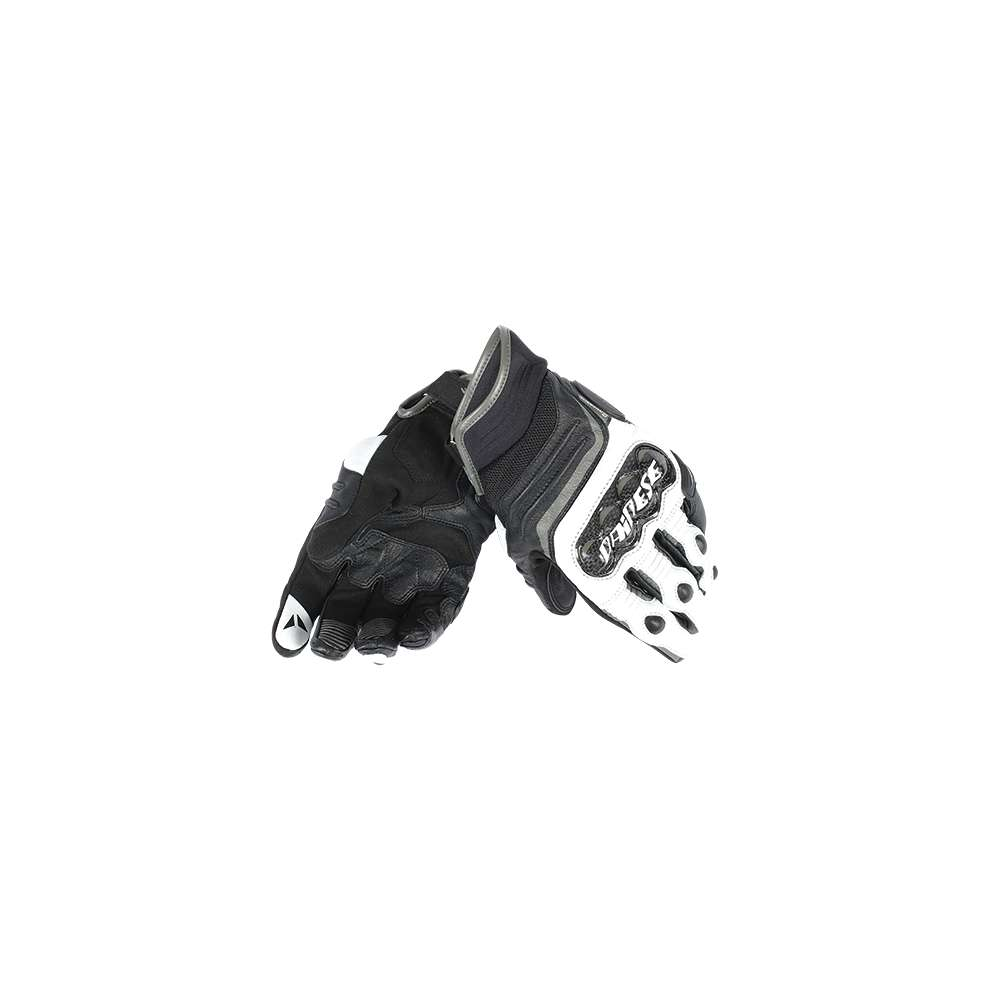 Carbon D1 short gloves black-anthracite Dainese