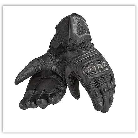 Carbon Gtx X-Trafit Black /  Black Gloves Dainese