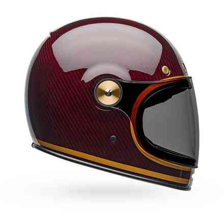 Carbon Transend Helmet Candy Red Bell