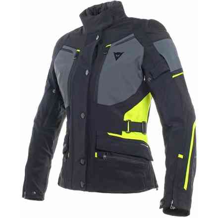 Carve Master 2 gtx lady jacket black grey yellow fluo Dainese