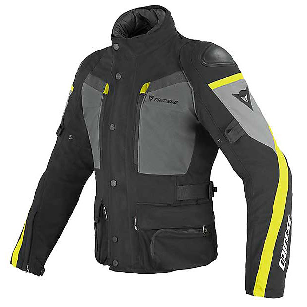 Carve Master Gore-tex Jacket black-castle rock-fluo yellow Dainese