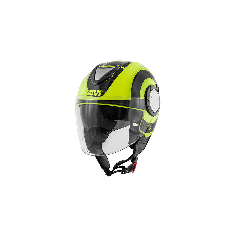 Casco 12.4 Future Big Nero Giallo Givi