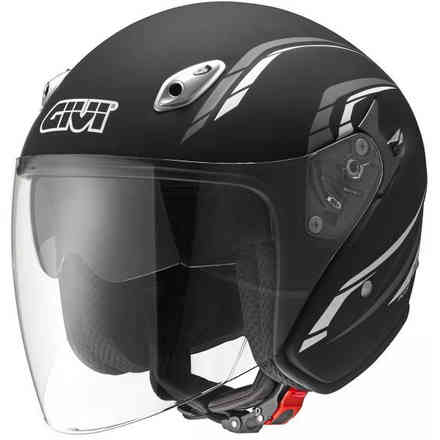 Casco 20.6 J2 Plus nero opaco Givi