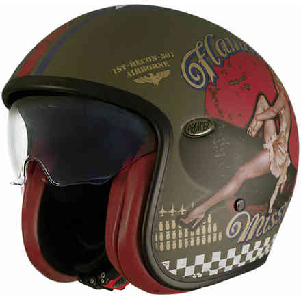 Casco 2018 Vintage Pin Up Military Bm Premier