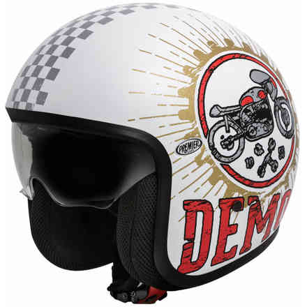 Casco 2018 Vintage Speed Demon 8 Bm Premier