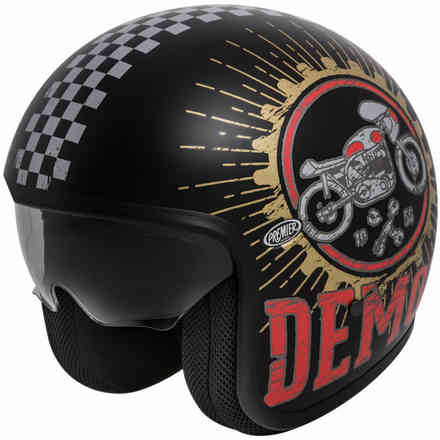Casco 2018 Vintage Speed Demon 9 Bm Premier