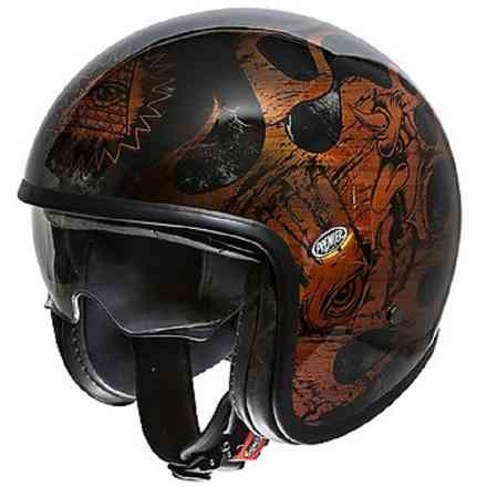 Casco 2019 Vintage Evo Bd Orange Chrom Boc Premier