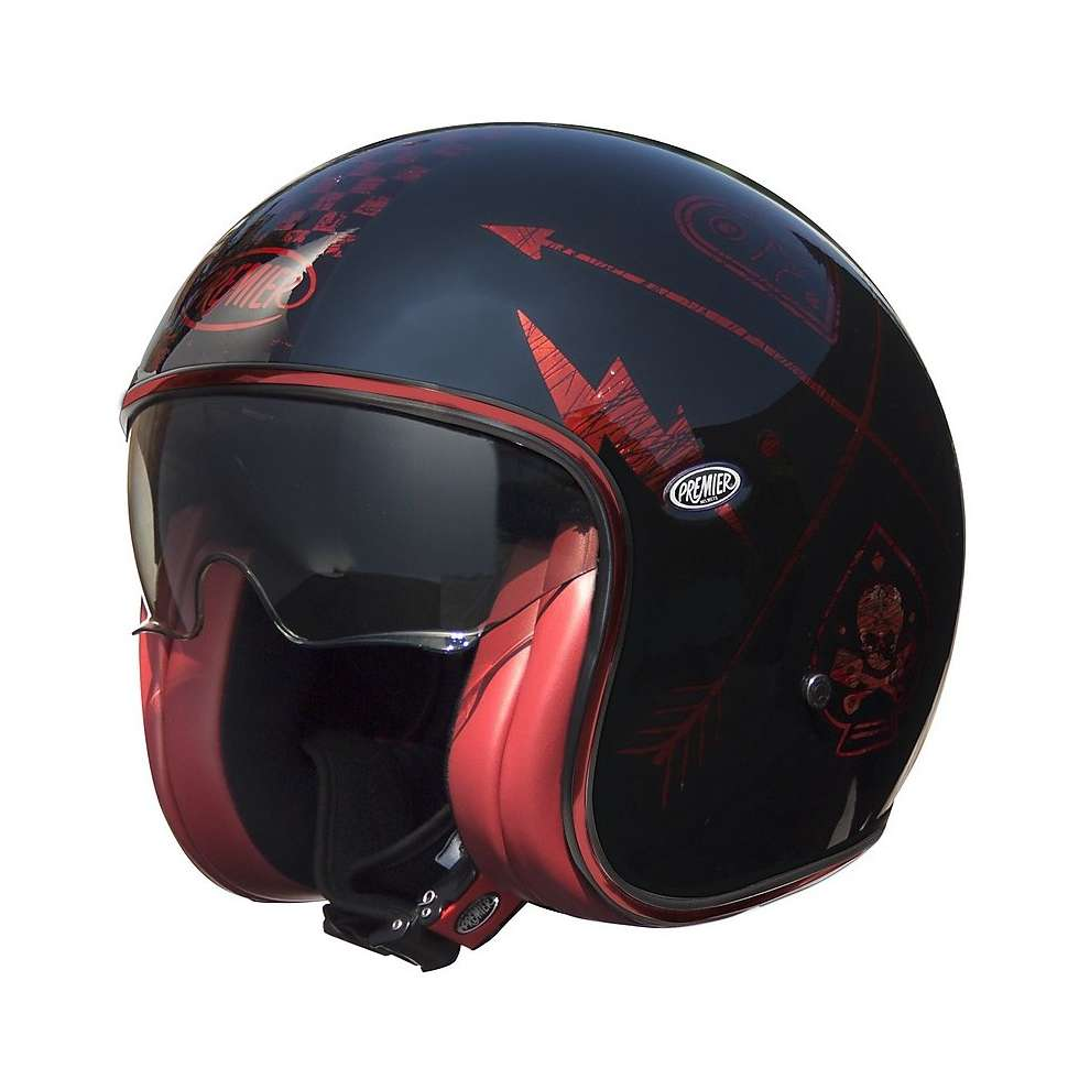 Casco 2019 Vintage Evo Nx Red Chromed Nrc Premier