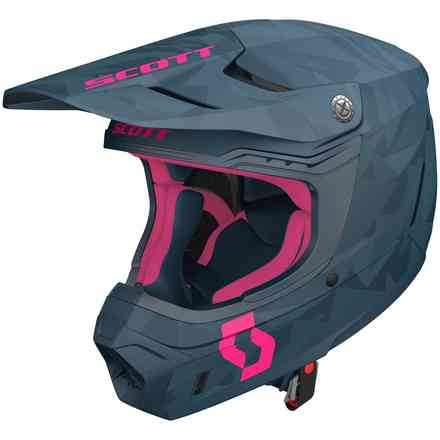 Casco 350 Evo Camo Ece Blue Pink Scott