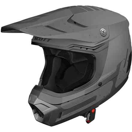 Casco 350 Evo Team Ece Grigio Scuro Scott