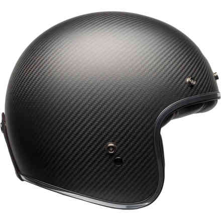 Casco 500 Carbon Solid Helmet Matte Black Bell