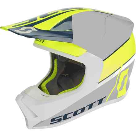 Casco 550 Split Ece Giallo Blu Scott