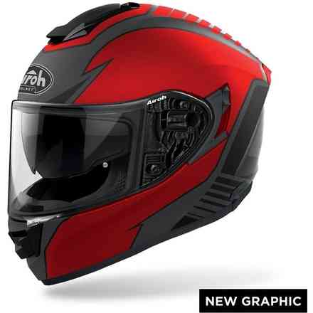 Casco AIROH St.501 Type Rosso Opaco Airoh