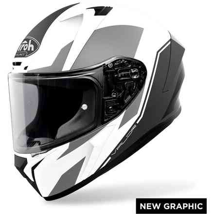 Casco AIROH Valor Wings Bianco Opaco Airoh