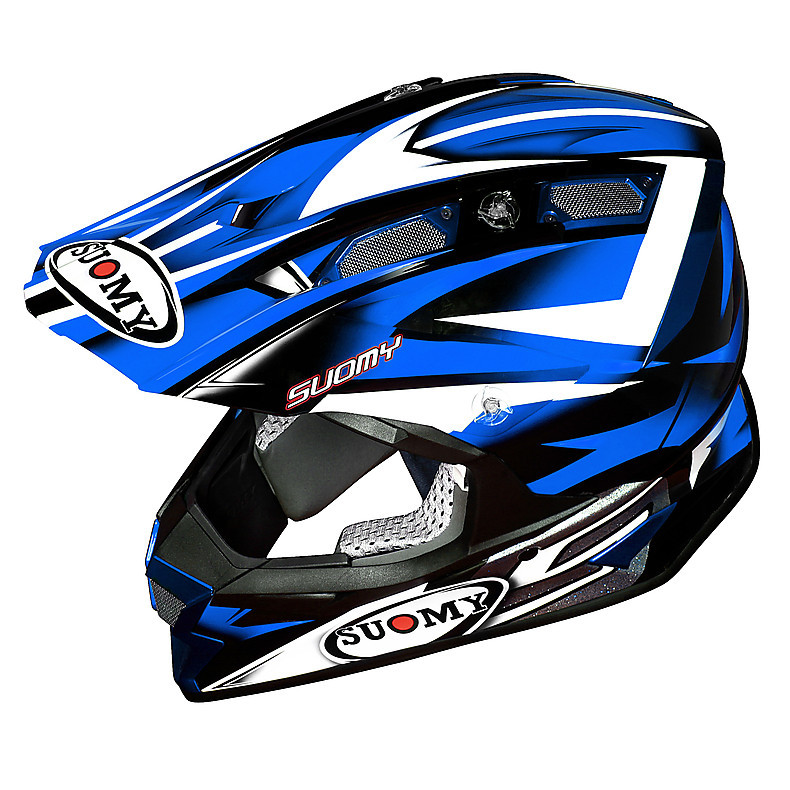 Casco Alpha Bike Blu Suomy