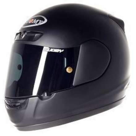 Casco Apex Plain Matt Black Suomy