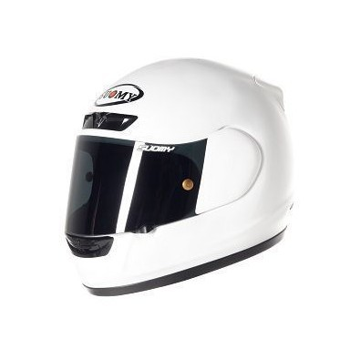 Casco Apex Plain White Suomy