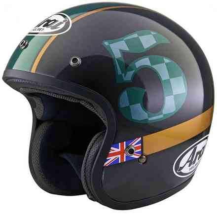 Casco Arai Freeway Classic Union Arai
