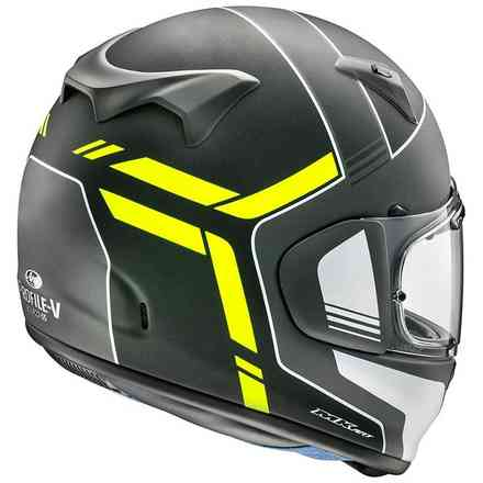 Casco Arai Profile-V Tube Fluor Giallo Arai
