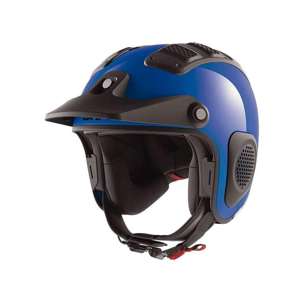 Casco Atv Drak Blu Shark