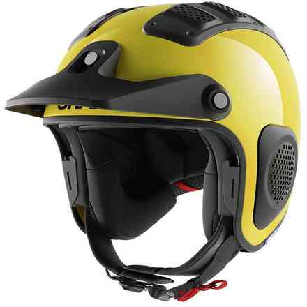 Casco Atv Drak Giallo Shark