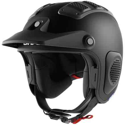Casco Atv Drak Mat Nero Shark