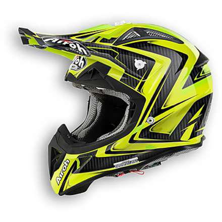 Casco Aviator 2.1 Arrow giallo Airoh