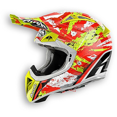 Casco Aviator 2.1 Clash lucido Airoh