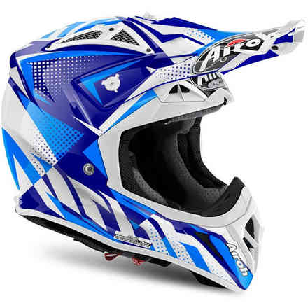 Casco Aviator 2.2 Flash Blu Airoh