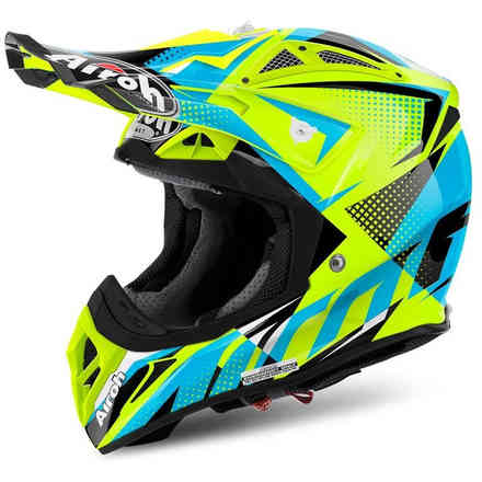 Casco Aviator 2.2 Flash giallo Airoh