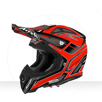 Casco Aviator 2.2 Ripple orange gloss Airoh