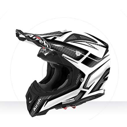 Casco Aviator 2.2 Ripple white gloss Airoh