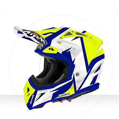 Casco Aviator 2.2 Steady yellow gloss Airoh