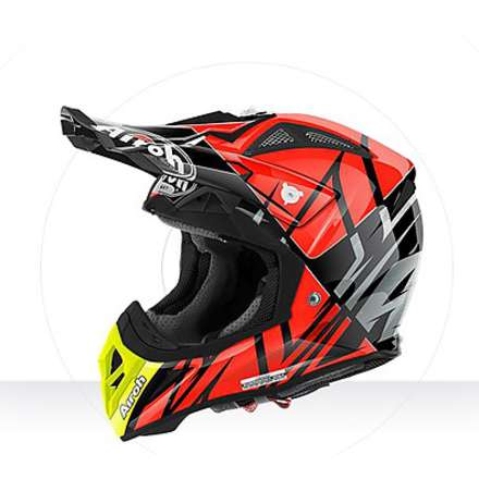 Casco Aviator 2.2 Styling orange gloss Airoh