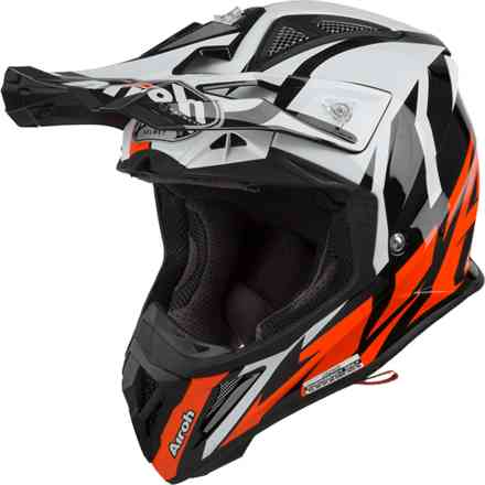 Casco Aviator 2.3 Great Arancione Gloss Airoh