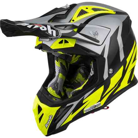 Casco Aviator 2.3 Great Giallo Opaco Airoh