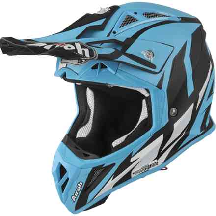 Casco Aviator 2.3 Great HellBlau Matt  Airoh