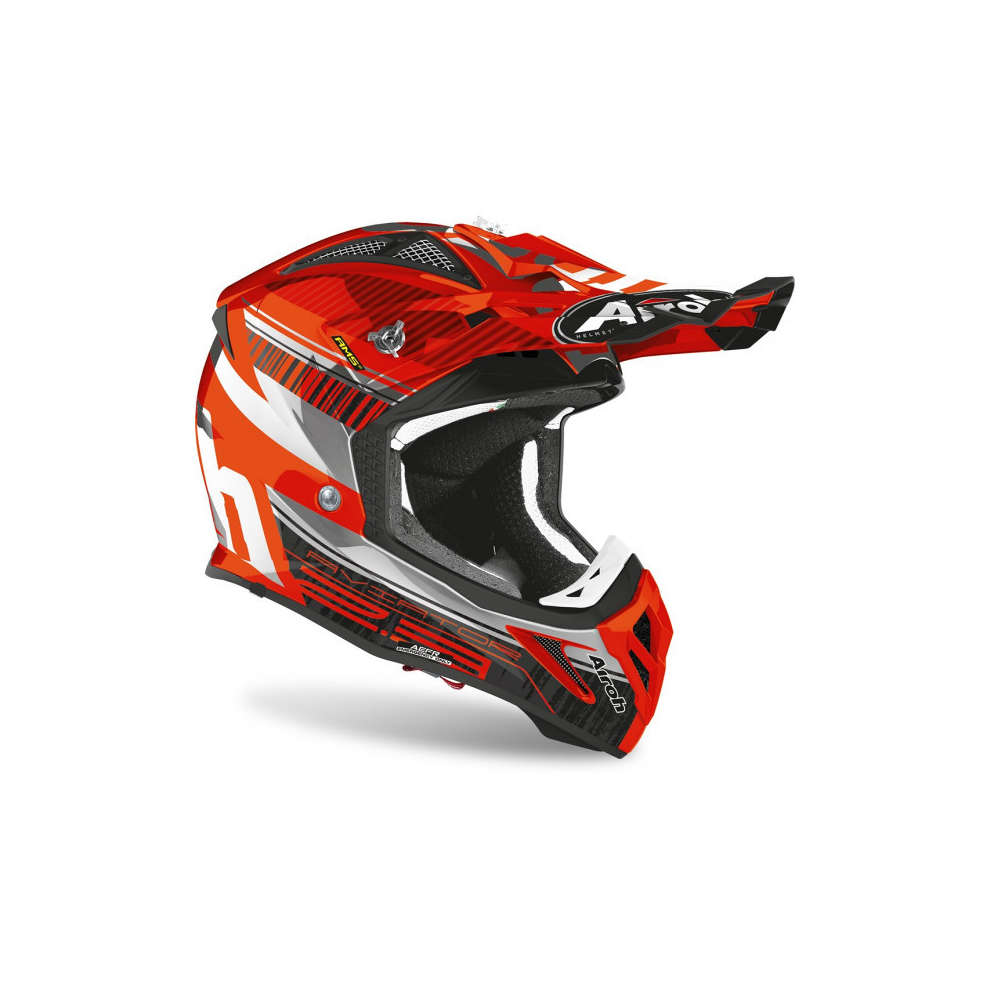 Casco Aviator 2.3 Novak Chrome Arancione Airoh
